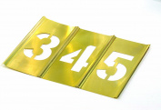 CH Hanson 25420cm Numbers Stencil Set