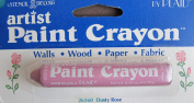 Plaid Craft STENCIL ARTIST PAINT CRAYON For Walls, Wood, Fabric & Paper