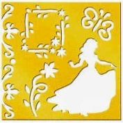Disney Princess Brass Stencil - 46626 - Snow White