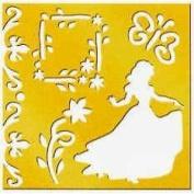 Disney Princess Brass Stencil - 46626 - Snow White