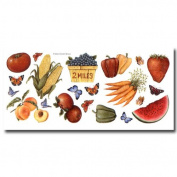 Instant Stencils - Fruit & Veggies