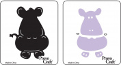 Cuttlekids Paper Cutting Die- Pearl the Hippo