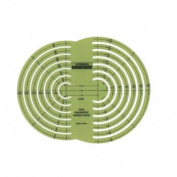 Chartpak R-127 Civil Engineer Radius Guide Template