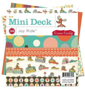 Cosmo Cricket Joy Ride Mini Paper Deck, 15cm -by-15cm