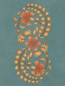 Modern Masters Kashmir Boarder Stencil Exotic Worlds Collection