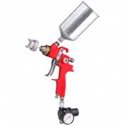 1.4mm HVLP Spray Gun Auto Paint Gravity Feed Sprayer
