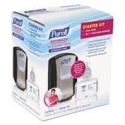 LTX-7 Advanced Instant Hand Sanitizer Kit, 700mL, Touch-Free, Chrome/Black