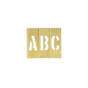 BOXSTBLN3 - BOX Letter/Number Stencil