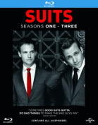 Suits: Seasons 1-3 [Region B] [Blu-ray]
