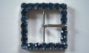 Dritz Bag Boutique Jewelled Buckle - Blue Square