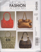 McCall's Fashion Accessories Pattern M5945 for Bags