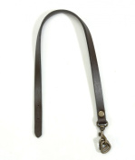 Byhands 100% Genuine Leather Bag Strap & Purse Handle with Ring