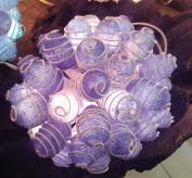 Purple Vintage Christmas Lights Retro Fancy Gift Ideas Decorations