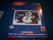 Snoopy Linus & Lucy's Snowman Latch Hook Kit