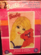 TEDDY BEAR BARBIE LATCH HOOK KIT