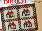 School House Quilt Latch Hook Rug Kit