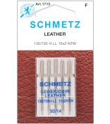 Leather Machine Needles-Size 14/90 5/Pkg