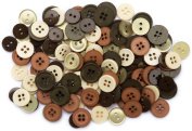 Blumenthal Lansing - Favourite Findings Buttons Assorted 130/Pkg