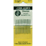 Sharps Hand Needles-Size 8 20/Pkg