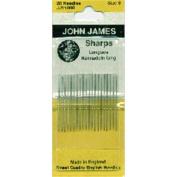 Sharps Hand Needles-Size 8 20/Pkg