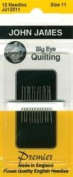 Colonial Needle - Big Eye Quilting Hand Needles - 12/Pkg