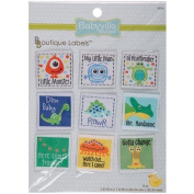 Babyville Boutique Labels, Boy Designs, 9 Count