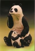 Panda Plaster Casting Mould
