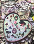 Fimo Roses & Ruffles Jewellery Polymer Clay Rare NEW OOP