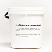 AeroMarine Black Powder Rubber Extender and Filler 1.9ls