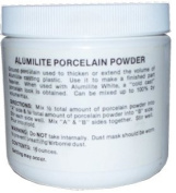 Porcelain powder for casting resin