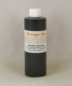 Alumilite Casting Resin Coloured Dye Economical Larger Bottle 180ml Orange