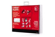 U Mould Plastic Moulding Kit, Ideal for repairs, crafts and prototyping, can be coloured using dye pellets
