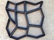 Pathmate Concrete Stepping Stone Mould, Random, New