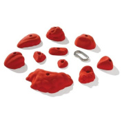Nicros HDI Medium True-pers Handholds - Red