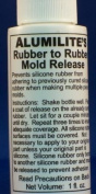 Alumilite Rubber to Rubber mould release