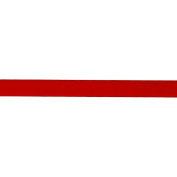 1cm Double-sided Satin Ribbon Red By The Yard