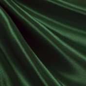Hunter Green Satin Fabric 150cm Inch Wide - By the Yard - For Weddings, Decor, Gowns, Sheets, Costumes, Dresses, Etc