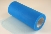15cm Turquoise Craft Tulle Roll 25 Yards