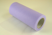 15cm Lavender Craft Tulle Roll 25 Yards