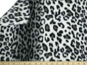 LA Linen ™ Printed Polar Fleece by the yard 2.5cm Wide, Leopard