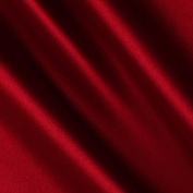 Charmeuse Satin Lipstick Red Fabric