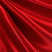 Red Satin Fabric 150cm Inch Wide - By the Yard - For Weddings, Decor, Gowns, Sheets, Costumes, Dresses, Etc