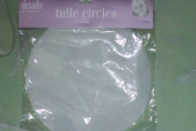 Details & Accessories 23cm Tulle Circles 15 Ct.