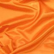 Orange Satin Fabric 150cm /150cm x 1yd