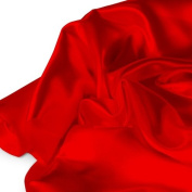Red Satin Fabric 150cm /150cm x 1yd