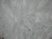 White Organza Fabric 150cm By the Yard