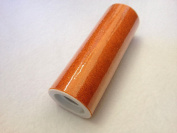 15cm Tulle 10 yard Spool Glitter Orange from The Fabric Exchange ®