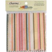 Fabric Palette Charm Pack 13cm x 13cm Cuts 20/Pkg-Simple Vintage