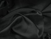 Black Chiffon Fabric 150cm By the Yard