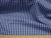 Fabric Cotton Blue Plaid D200 By Yard,1/2 Yard,Swatch
